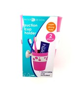 InterDesign Bubblz Power Lock Suction Cup/Holder Pink w/ Removable Cup B... - $13.09