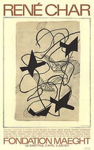 Georges Braque-Rene Char-1983 Poster - $42.08