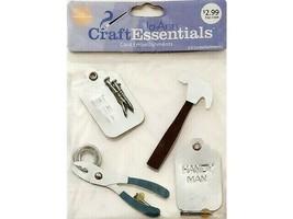 Joann Craft Essentials Tool Time Embellishment Stickers #24716
