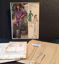 Vintage Vogue American Sewing Pattern 1060 Anne Klein Sz 14 Misses Dress... - $18.00