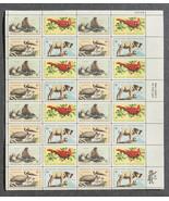 Wildlife Conservation, Pelican, Seal, Bighorn, Cardinal, Sheet of 8 cent... - $7.50