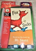 LeapFrog  - Fox in Socks  LeapPad - $5.25