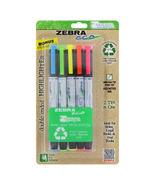 Zebra Zebrite Double-Ended Highlighter, Chisel/fine Point Tip [New] Pack... - $13.88
