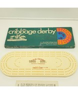 Vintage 1969 Cribbage Derby Game With Box & Instructions by Lowe - $29.70