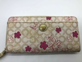 Pre-owned Coach wallet Slim Envelope Leather image 1