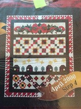 JoAnn Fabrics 2000 Holiday Tidings April Step 43 Quilt Block Pack Month 4 - $7.62