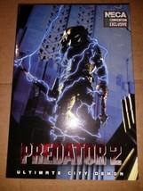 "NECA Predator 2 7"" Scale Action Figure City Demon Comic 2020 SDCC Exclusive  - $125.00"