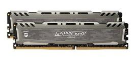 Ballistix Sport LT 32GB Kit (16GBx2) DDR4 2400 MT/s (PC4-19200) DIMM 288-Pin - $384.95