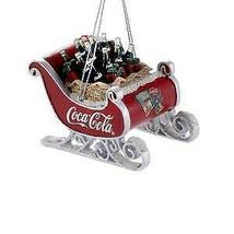 Coca-Cola® Sleigh Ornament w - $17.99