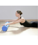 Yoga Pilates Fitness Excercise Gym Floating Point EVA Workout Foam Roll ... - $19.99