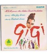 Gigi No 3 Original Cast Sound Track MONO British Pressing - $9.72