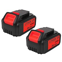6.0Ah 20V Dcb205 Replacement Lithium Ion Battery For Dewalt Dcb200 Dcb - $106.99