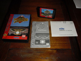World Series Baseball (Sega Genesis, 1994)  - $6.92