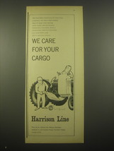 1966 Harrison Line Advertisement - For your cargo - $14.99