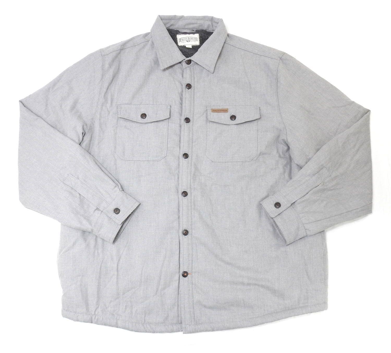 be94e63297e2a NWT FIELD & STREAM Sherpa Lined Flannel Shirt Jacket Long Sleeve Sz m MSRP  $100 - $39.96