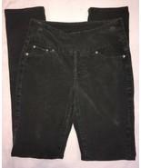 Jag Jeans Womens Pants 2 Dark Gray Corduroy High Rise Slim Leg - $40.44