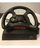 Mad Catz Analog Steering Wheel /untested/AS IS - $14.03