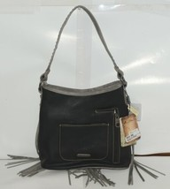 Montana West Collection MW689G 918 Medium Leather Like Black Conceal Carry Purse image 2