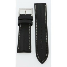 Hamilton 22mm Black Leather American Classic JazzMaster Watch Band H6003... - $140.00
