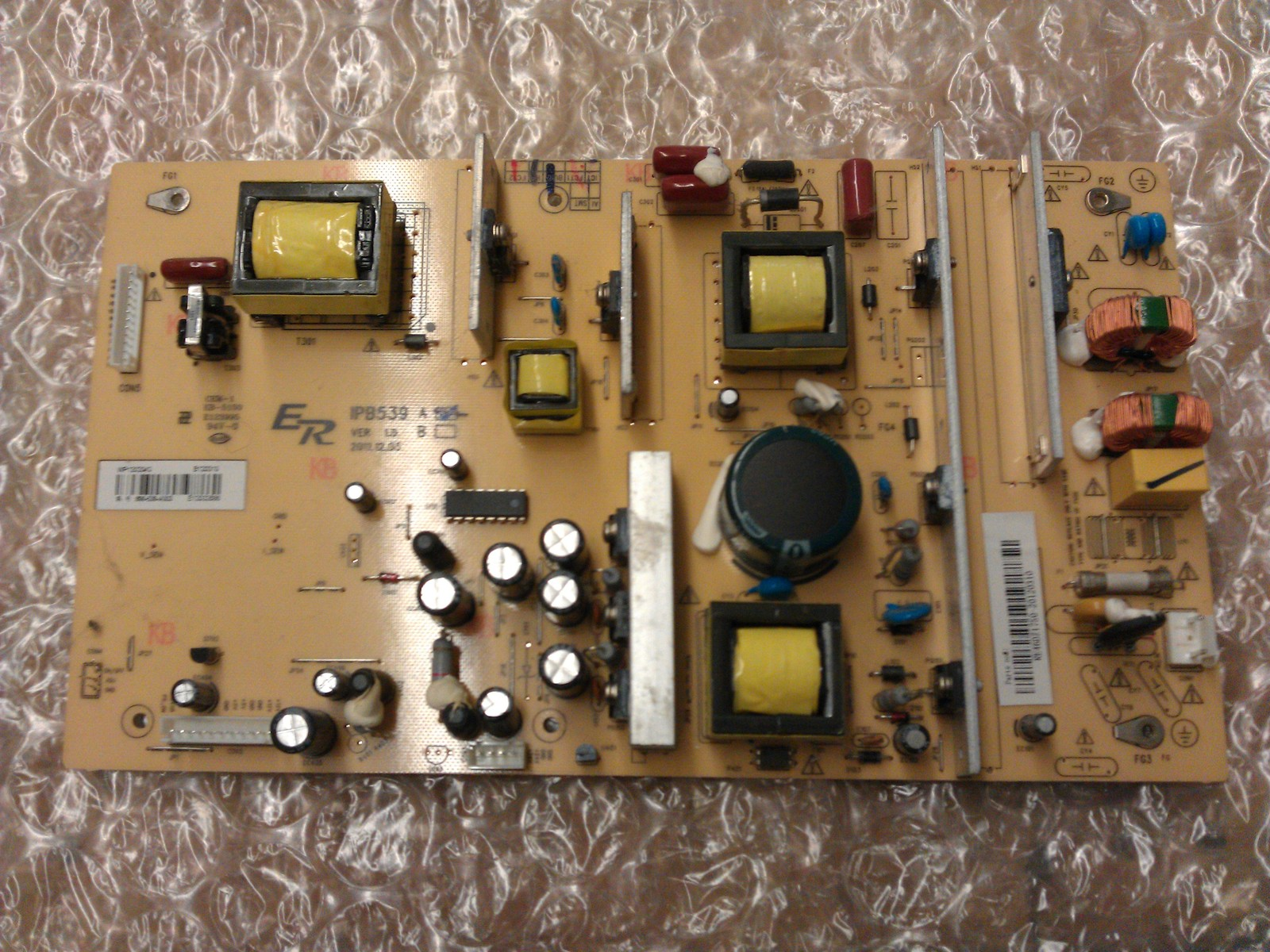 * RE46DZ1750 IPB539A Power Supply Board From Rca 39LB45RQ LCD TV - $53.95