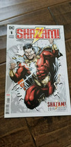 2019 SDCC WONDERCON DC SHAZAM SPECIAL EDITION COMIC BOOK # 1 FRANK JOHNS... - $7.91