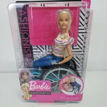 Barbie Fashionista Blond Barbie Wheelchair # 132  - $32.95