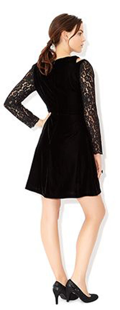 MONSOON Clary Velvet Dress Size UK 14 BNWT image 4