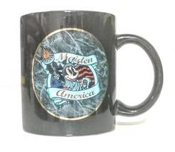 Maiden America Minnie Mouse Patriotic Coffee Mug Cup Iron Maiden DISNEY ... - £28.98 GBP