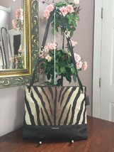 Coach Crossbody Bag Madison 51086  Hippie  Brown Zebra Convertible  B2A - $69.29