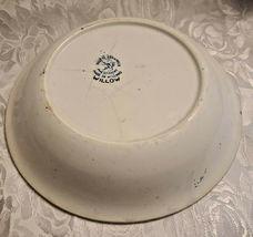 "Societe Ceramique Holland Pottery Blue Willow Pattern Bowl 9 1/2"" image 5"
