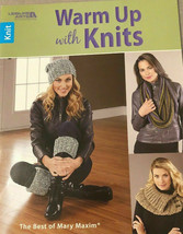 Leisure Arts Warm Up With Knits The Best of Mary Maxim Pattern Book #678... - $12.71