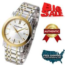 New Burberry Watch, Men's Swiss Two-Tone Stainless Steel Bracelet 28mm B... - $1,024.42 CAD
