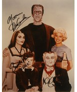 THE MUNSTERS CAST SIGNED PHOTO X3 - Yvonne DeCarlo, Al Lewis, Butch Patrick w/CO - $289.00