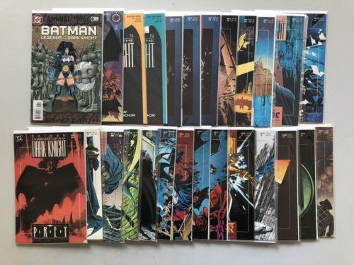 Lot 26 Batman Legends of the Dark Knight #0 1 3-11 18-30 Annual #6 NM Near Mint
