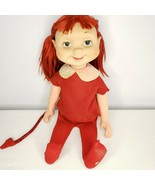 Vintage 1960 Whimsie Vinyl Trixie The Pixie Devil Doll American Character - $96.49