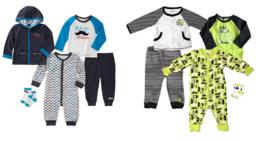absorba Infant Boys' 5-Piece Set (Jacket, Shirt, Bodysuit, Pant and Socks) - $12.99