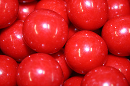 Gumballs Red 25mm Or 1 Inch (114 Count), 2LBS - $16.82