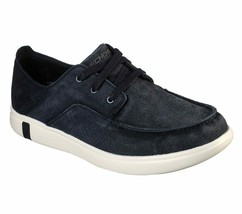 Men's SKECHERS Glide Ultra Omano Boat Shoe, 210060 /BLK Multiple Sizes B... - $59.95