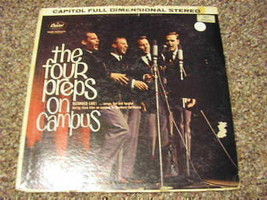 1961 LP RECORD THE FOUR PREPS ON CAMPUS FIRST PRESSING - £3.81 GBP