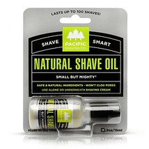 Pacific Shaving Company Natural Shaving Oil - Helps Eliminate Shaving Nicks, & R