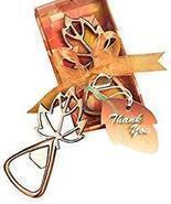 Autumn Magic Leaf Design Bottle Openers (100) - $3.368,69 MXN