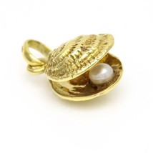 Links of London 18k Yellow Gold Seashell and Pearl Charm - $470.25