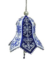 New Mixed Style Embroidery Kit Christmas Bell Tree Decoration, Nordic Pr... - $9.34