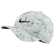 NEW! NIKE White/Grey/Black Printed Aerobill Classic99 Hat Baseball Cap - $64.23