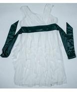 MY MICHELLE GIRLS 12 BLACK WHITE DRESS RUFFLES ELEGANT SPECIAL OCCASION ... - $16.82