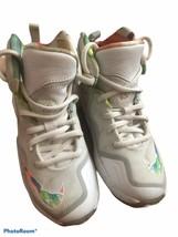 NIKE Lebron James Sneakers Kids Girls Size 12 - $44.54