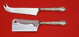 English Gadroon By Gorham Sterling Silver Cheese Srvr Serving Set 2P Hhws Custom - $110.30
