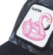 Goorin Bros Snapback Mesh Cap Floater Tie Dye Flamingo Pool Party Trucker Hat image 2