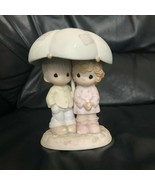 Precious Moments He Is Our Shelter From The Storm 523550 Figurine 1997 - $49.99