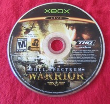 Full Spectrum Warrior (Microsoft Xbox, 2004) Game Only - $1.24